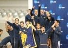 Cal Swimming and Diving NCAA Champions Honored On-Field at Memorial Stadium
