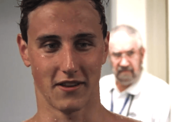 Cameron McEvoy (courtesy of Swimming Australia)