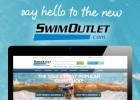 Swimoutlet, swimswamgraphic, Site re-design