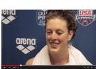 Allison Schmitt Post 400 Free Interview