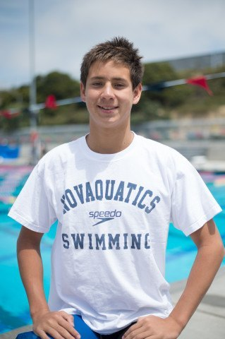 Hunter Hitchens, national age group swimming standout (courtesy of Mike Lewis, olavistaphotography.com)