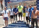 Men's 10K Podium. Photo: Anne Lepesant