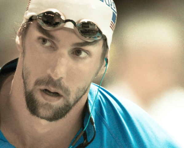Michael Phelps, 2014 Charlotte Grand Prix (Courtesy of Mike Lewis)