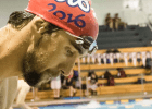 Michael Phelps, Charlotte 2014, courtesy of Mike Lewis