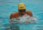 Josh Prenot in the 400 IM at LA Invite. Photo: Anne Lepesant