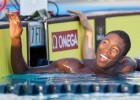 Reece Whitley won the B-Final of the boys' 100 breaststroke, and in the process set the 13-14 National Age Group Record with a 1:03.23. (Courtesy: Tim Binning/TheSwimPictures.com)