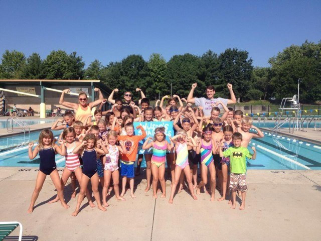 Wilson's Beach Swim Team are staying strong for Chase!