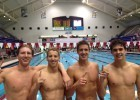 YMCA of the Triangle breaks 200 free relay NAG for 17-18s at YNats Tuesday night