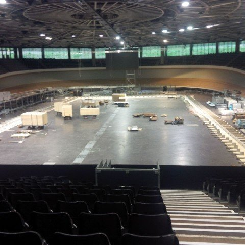 2 480x480 See Images of Transformation of Berlin Velodrome From Cycling Track to Swimming Pool