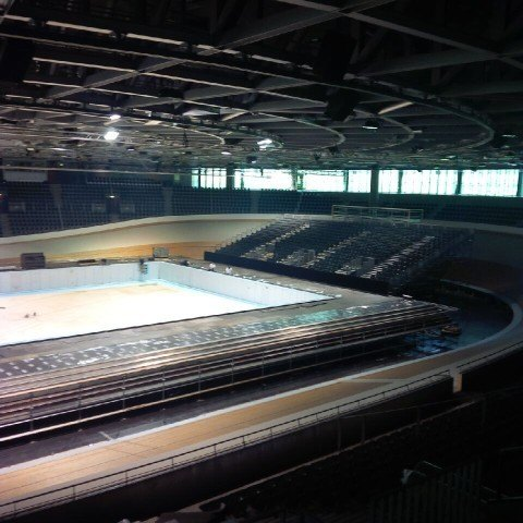 6 480x480 See Images of Transformation of Berlin Velodrome From Cycling Track to Swimming Pool