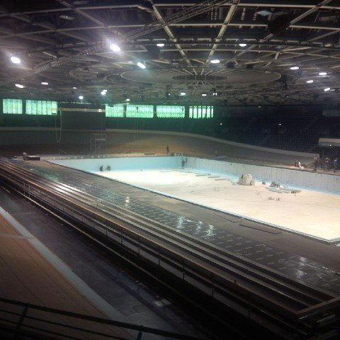7 480x480 See Images of Transformation of Berlin Velodrome From Cycling Track to Swimming Pool