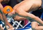 Molacek's relay heroics set the tone for double Auburn wins over Missouri