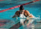 Jessica Long winning the 100 breast SB7 at Para Pan Pacs. Photo: Anne Lepesant