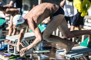 Michael Andrew during warm up (photo: Mike Lewis, Ola Vista Photography)