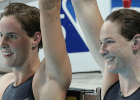 Cate Campbell, Bronte Campbell, , 2014 Pan Pacific Championships (courtesy of Paul Younan)