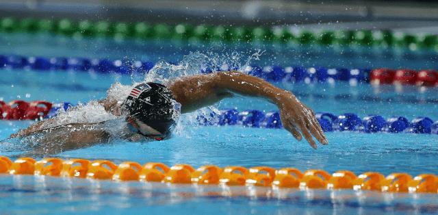 Michael Pheps, 2014 Pan Pacific Championships (courtesy of Scott Davis)