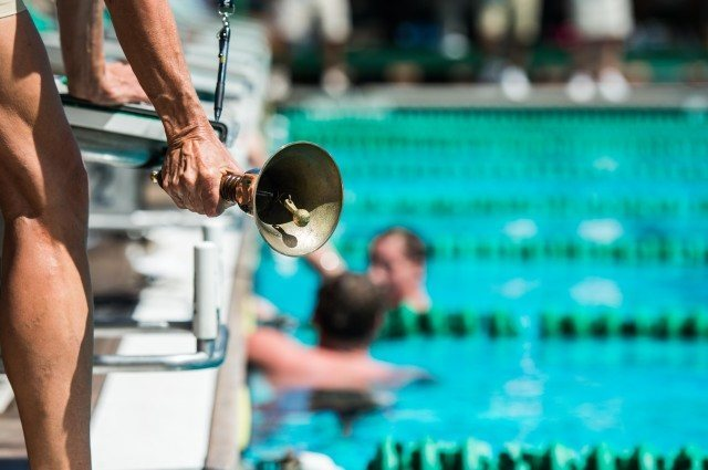 a distance swimmers favorite sound (photo: Mike Lewis, Ola Vista Photography)