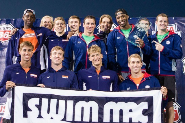 high point men SwimMAC Carolina team TB1 3284  640x426 SwimMAC Sweeps Team Awards, Wins Combined Title by Almost 200 Points