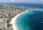 Swim Barbados, Carlisle-Bay-aerial-3