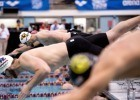 Prelims men's 500 free start (photo: Mike Lewis, Ola Vista Photography)