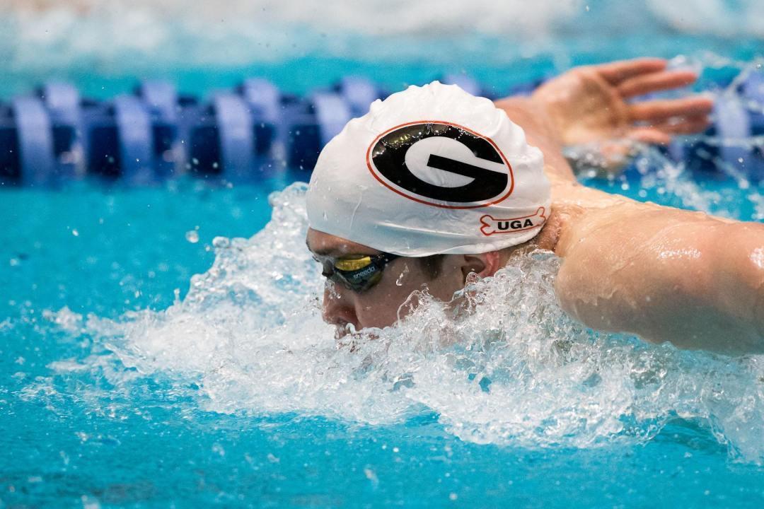 Georgia dominates tri with Georgia Tech and SCAD as the Stewarts triple
