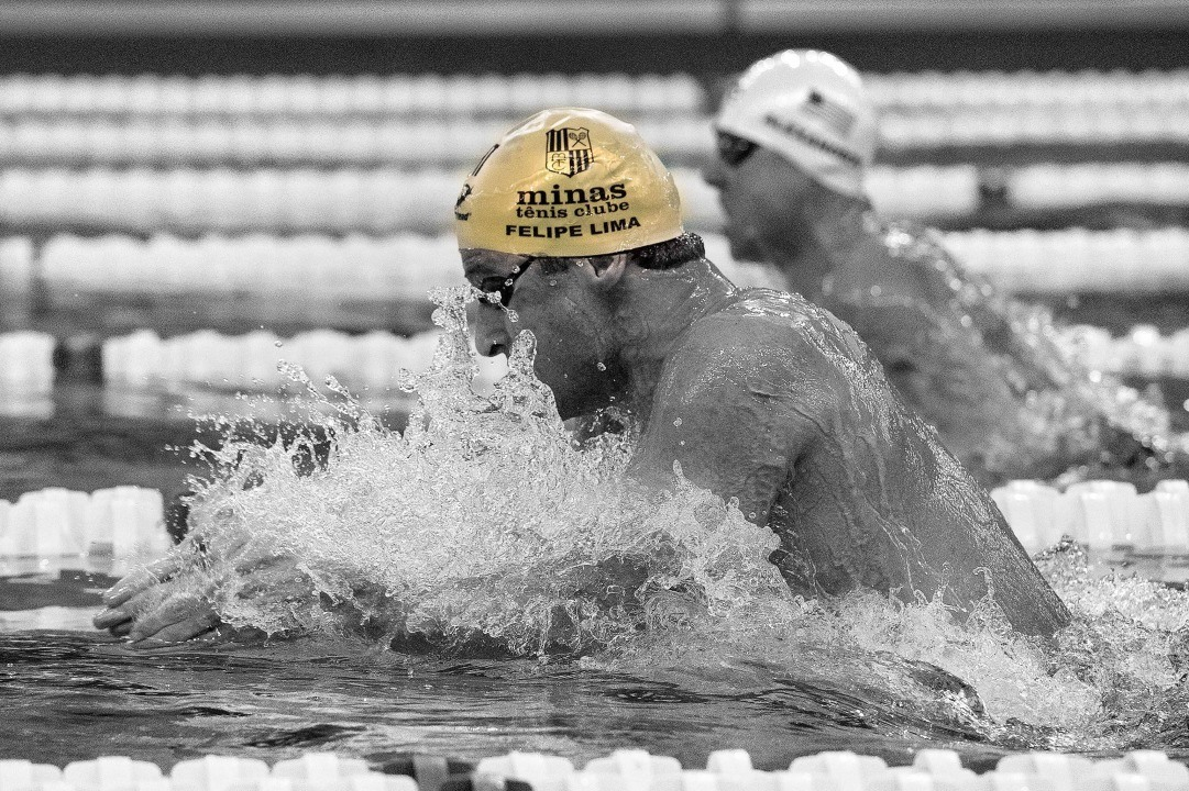 Felipe Lima's 27.31 in 50 breast highlights day 7 prelims at Maria Lenk