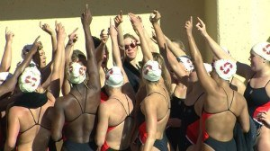 Manuel and Stanford Breaststrokers Dominate; Cardinal Defeats USC on Senior Day