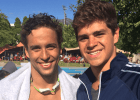 Chad le Clos, Michael Andrew, 2015 South Africa Grand Prix