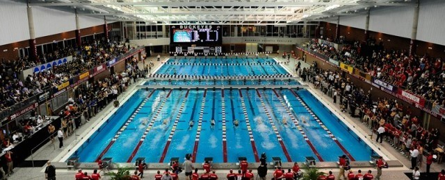 10 Great Swimming Pools In Action This College Conference Season