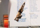 Kristian Ipsen looks to score big in 1 meter diving finals