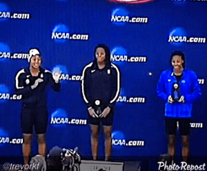 Image is courtesy of Trevor Freeland, UVA alum, NCAA DI Swimmer from the 1980s, among the first African American All-Americans in swimming.