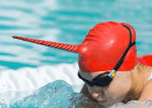High Tech Narwhal Swim Cap Engineered to Improve Performance