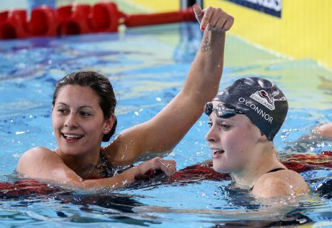 O'Connor Takes the Helm of the 200 IM World Rankings