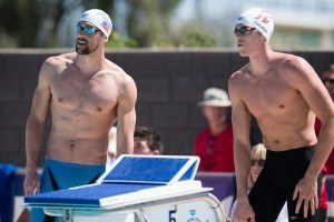 Video Interview: Bob Bowman wants to see Katie Ledecky and Michael race in the 400 free