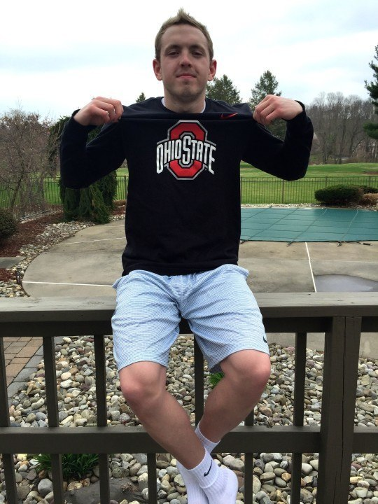 Lancaster Aquatic Club Breaststroker Oliver Knabb Commits to Ohio State