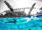How to Swim the 100 Medley Relay in an Empty Pool