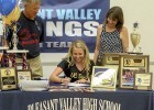 Chico Aqua-Jets' Keely Johnson Signs NLI with UC Davis Aggies