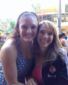 Kelsi and Erica Worrell. Photo courtesy of Erica Worrell.
