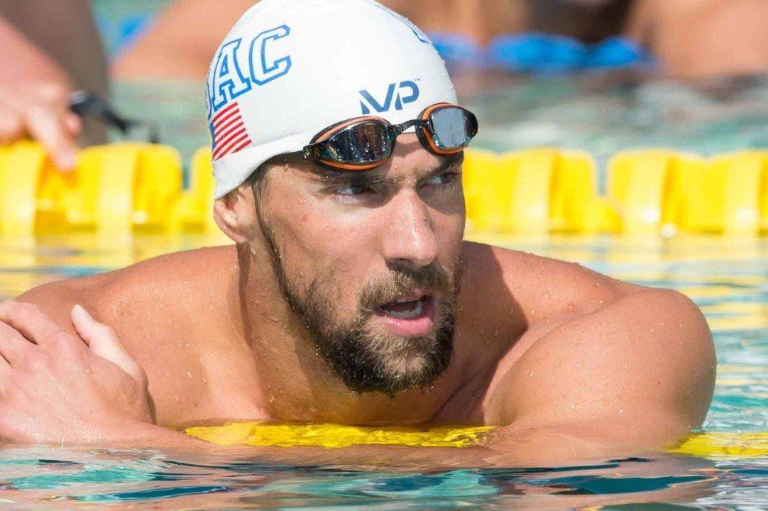 Breaking Down Michael Phelps' Arena Pro Swim Series At Santa Clara Performance