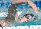 Missy Franklin in the prelilms of the 200 free in Santa Clara (photo: Mike Lewis, Ola Vista Photography)