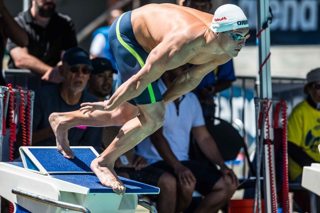 2016 FINA World Cup: Morozov Sets WR, Wins 13k On Day 1 in Berlin