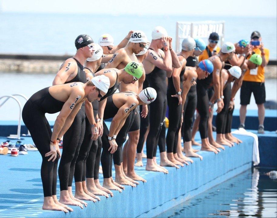 Photo Vault Pan Am Games Men 39 S 10k Open Water