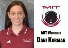 MIT Hires Dani Korman as Swimming & Diving Head Coach