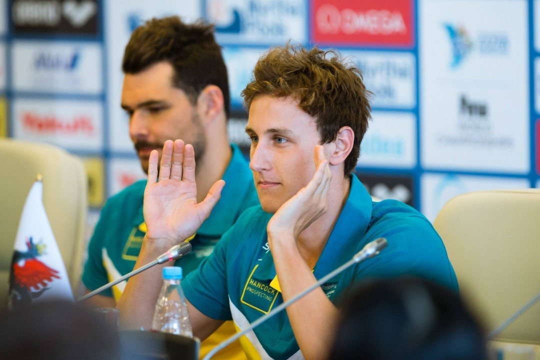 Australia Ensures Olympic Bid in 400 Free Relay With Time Trial Swim