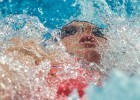 Missy Franklin in the 200 back at the 2015 FINA world championships Kazan Russia (photo: Mike Lewis, Ola Vista Photography)
