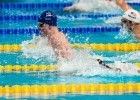 Adam Peaty in the prelims of the 100 breast at at the 2015 FINA world championships Kazan Russia (photo: Mike Lewis, Ola Vista Photography)