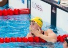 Bronte Campbell (AUS) earns her 2nd World Championship title, this time in women's 50m free with 24.12 on Day 8 of 2015 FINA World Championships  (courtesy of Tim Binning, theswimpictures.com)