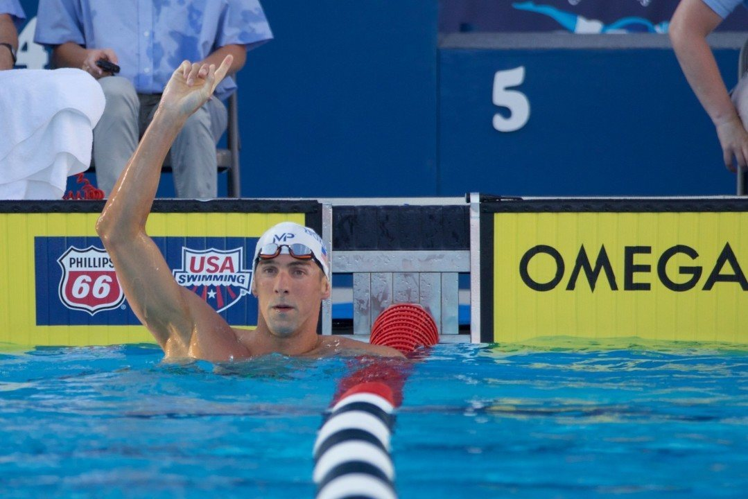 """Chad Le Clos: """"Phelps Can Keep Quiet Now"""""""