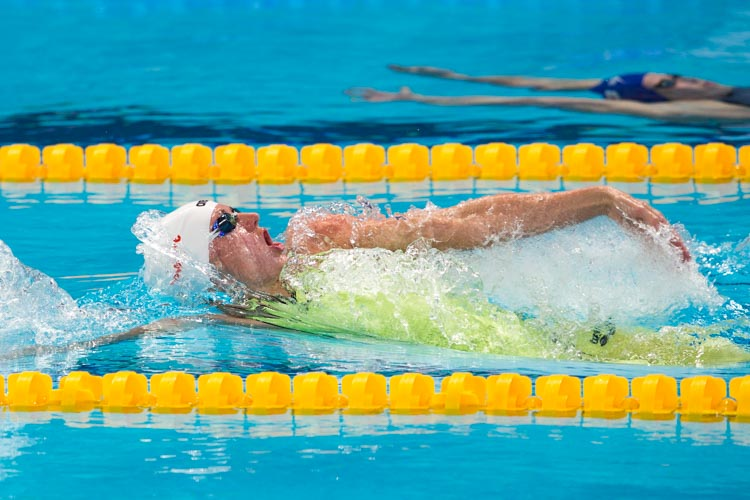 SwimmersBest Drill Of The Month: One-Arm Backstroke