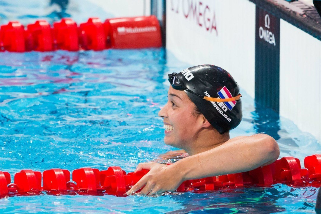 FINA World Cup Berlin: Multiple Dutch National Records Go Down